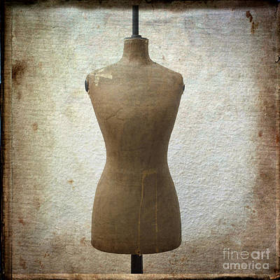 Dressmaker's Model Art Print by Bernard Jaubert