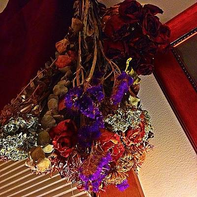 Bouquet Photograph - Dried #bouquet.  @nduce4💋 by Amy Sturgeon