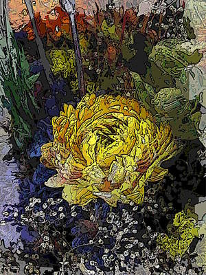 Floral Arrangement Digital Art - Dried Delight 5 by Tim Allen
