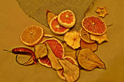 Photograph - Dried Fruit by Brian Chase