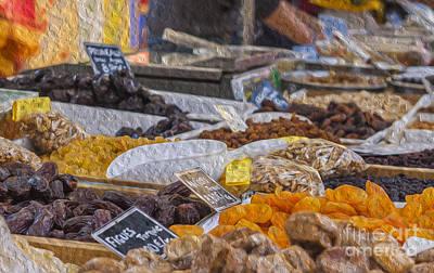 Store Digital Art - Dried Fruits by Patricia Hofmeester