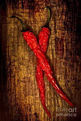 Dried Pepperoni Art Print by Shawn Hempel