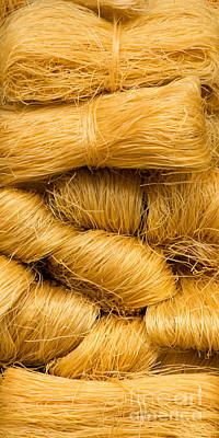 Photograph - Dried Rice Noodles 03 by Rick Piper Photography
