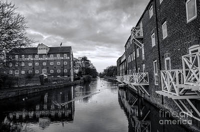 Driffield Refurbished Canal Basin Art Print