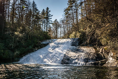Photograph - Drift Falls by Randy Scherkenbach