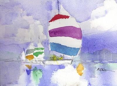 Scot Painting - Drifter by Robert Yonke