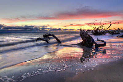 St. Simons Island Photograph - Drifter's Dreams by Debra and Dave Vanderlaan