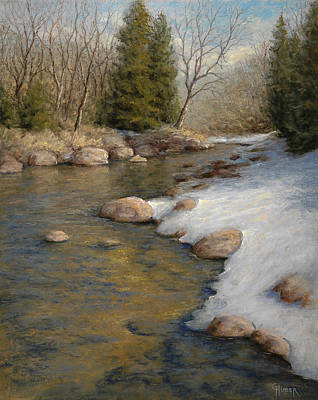 Painting - Drifting Into Spring by Gary Huber