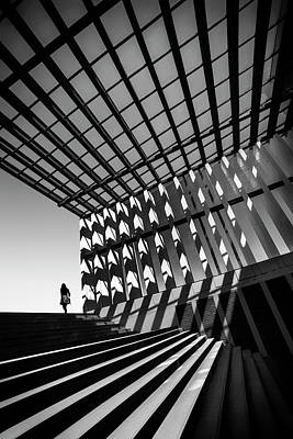 Staircase Photograph - Drifting by Paulo Abrantes