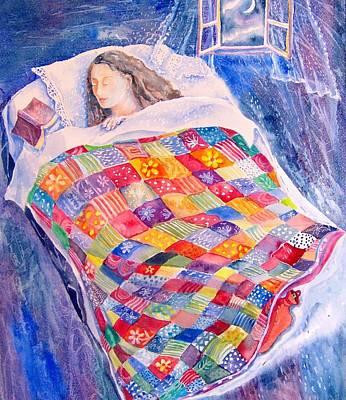 Drifting To Dreamland Art Print by Trudi Doyle
