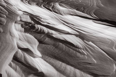 Photograph - Drifts Abstract by Robert Clifford