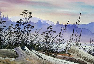 Driftwood Landscape Original by James Williamson