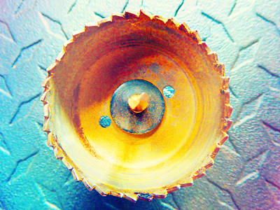 Photograph - Drill Bit 4 by Laurie Tsemak