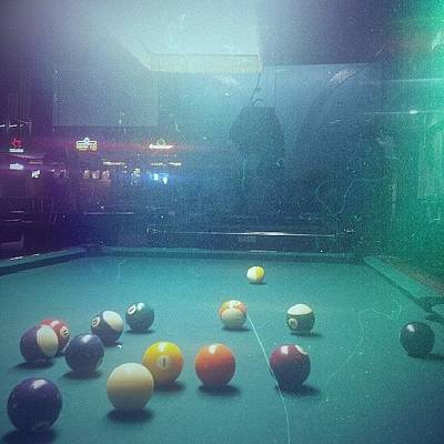 Money Wall Art - Photograph - Pool Table by Zarah Delrosario
