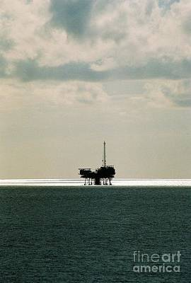 Photograph - Drilling For Oil Gulf Of Mexico by Michael Hoard