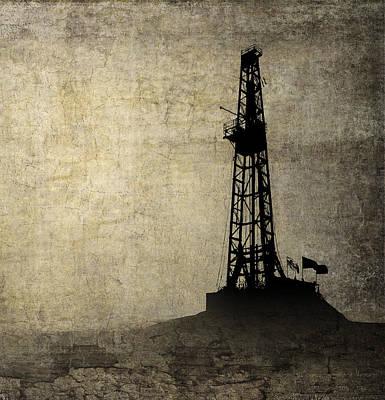 Drilling Isolation Art Print