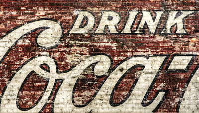 Faded Photograph - Drink Coca-cola 2 by Scott Norris