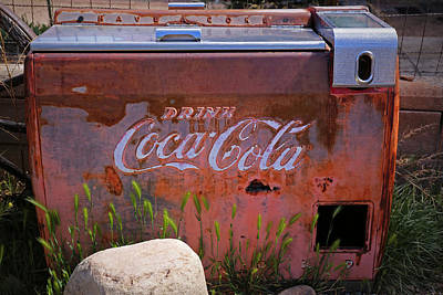 Drink Coca Cola Art Print by Lynn Sprowl
