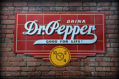 Drink Dr. Pepper - Good For Life Art Print