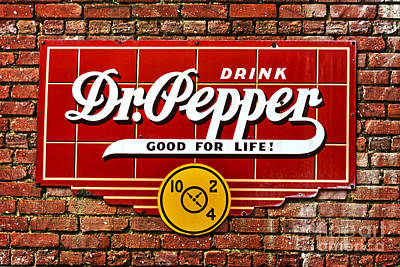 Photograph - Drink Dr. Pepper by Ken Johnson