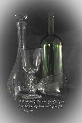 Photograph - Drink Freely by Judy Hall-Folde