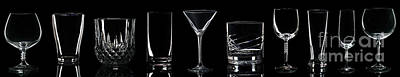 Martini Royalty-Free and Rights-Managed Images - Drink Glasses by Luis Alvarenga