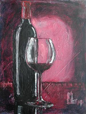Painting - Drink by Lee Stockwell