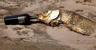 Drink Like A Fish Art Print
