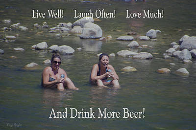 Photograph - Drink More Beer by Floyd Snyder