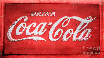 Coca-cola Signs Digital Art - Drink by Perry Webster