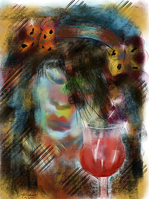 Painting - Drinking Gipsy by Miroslaw  Chelchowski