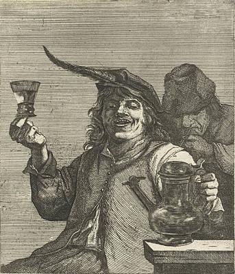 Drinking Man, Quirin Boel, David Teniers II Art Print