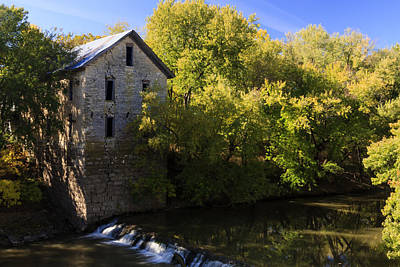 Photograph - Drinkwater And Schriver Flour Mill by Scott Bean