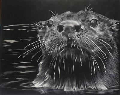 Drippy Art Print by Sydne Spencer