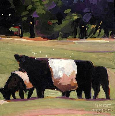 Farm Fields Painting - Drive By by Molly Poole