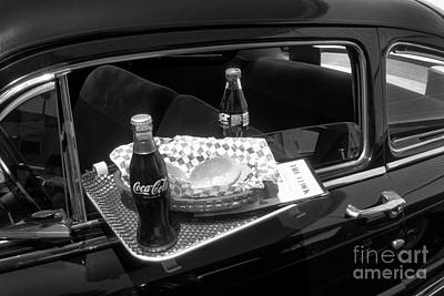 Photograph - Drive-in Coke And Burgers by Paul W Faust -  Impressions of Light