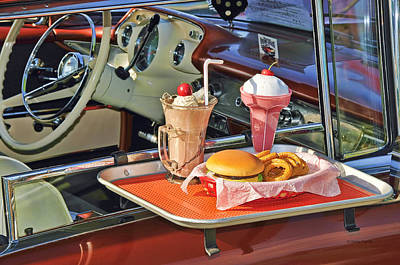Drive-in Memories Art Print by Kenny Francis