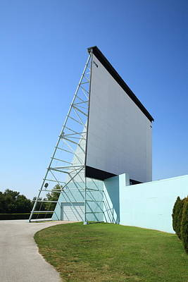 Photograph - Drive-in Movie by Frank Romeo