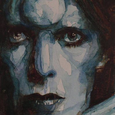 David Bowie Painting - Drive In Saturday by Paul Lovering