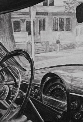 Drawing Drawing - Drive by Lindsey Cockrum