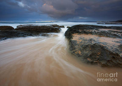 Knights Beach Photograph - Driven Between The Rocks by Mike Dawson