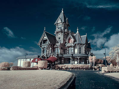 Carson Mansion Photograph - Driveway To Carson Mansion by Greg Nyquist