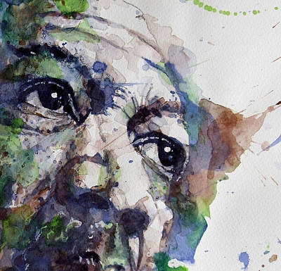Celebrities Painting - Driving Miss Daisy by Paul Lovering