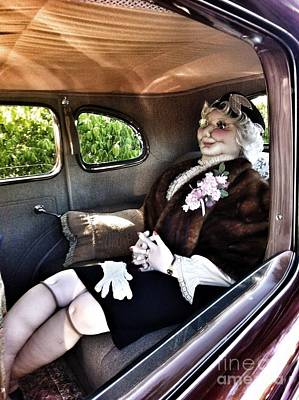 Photograph - Driving Miss Daizee by Susan Garren