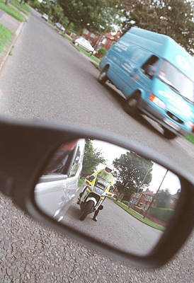Policeman Wall Art - Photograph - Driving Offence by Jim Varney/science Photo Library