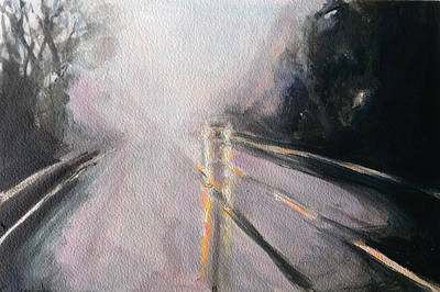 Ts Painting - Driving Series No. 2 by Paul Mitchell