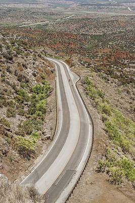 Photograph - Driving Through Canyons by Karen Stephenson