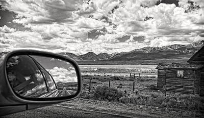 Driving Through Colorado Art Print by Susan Stone