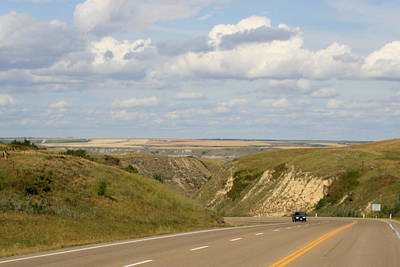 Photograph - Driving To Drumheller by Betty-Anne McDonald