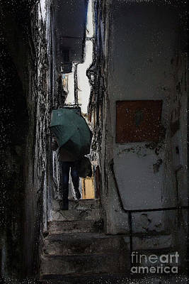 Photograph - Drizzling In Amalfi by Tom Griffithe